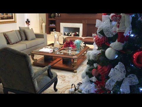 Decoração de Natal / Sala de Estar / Living Room Christmas Decorating