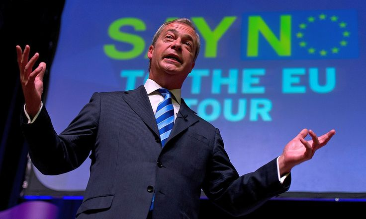 """Top News: """"UK: 50% Chance Of Britain Leaving EU - Nigel Farage"""" - http://www.politicoscope.com/wp-content/uploads/2015/09/UK-Headline-News-Nigel-Farage-1600x961.jpg - Farage is due to tell activists that the EU referendum should be the party's overriding priority.  on Politicoscope - http://www.politicoscope.com/uk-50-chance-of-britain-leaving-eu-nigel-farage/."""