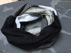Nastja de DIY Eule vous a concocté un super projet de patchwork, très simple à réaliser : un foulard tube composé de six Fat Quarters. L'écharpe en patchwork égayera n'importe laquelle de vos tenues !
