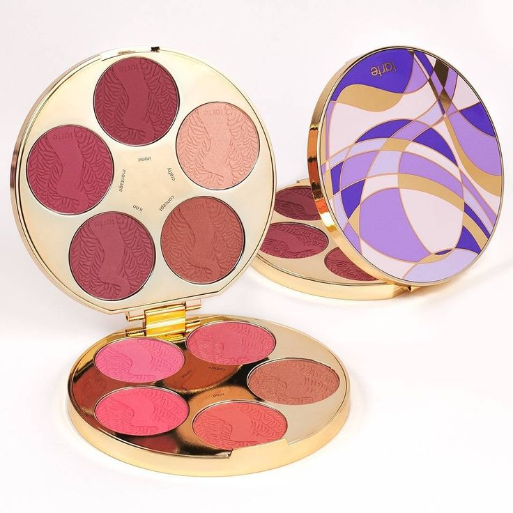 Because you can never have too many blushes... Create #worksoftarte with our NEW color wheel Amazonian clay blush palette, available now on tarte.com for just $44! #blushauthority #naturalatistry