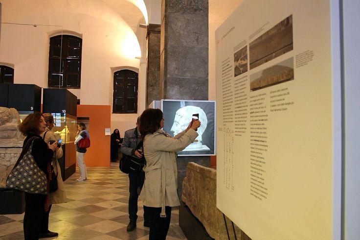 #veryscazzer #invasionidigitali #siciliainvasa2014 #igerspalermo @Elisa Bieg Bonacini @invasionidigita @giorgiofranco_ #museosalinas #etruschiapalermo