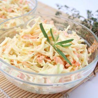 Zimní zelný salát