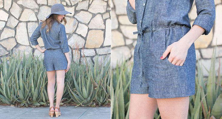 Sanibel Dress & Romper | Sewing pattern by Hey June