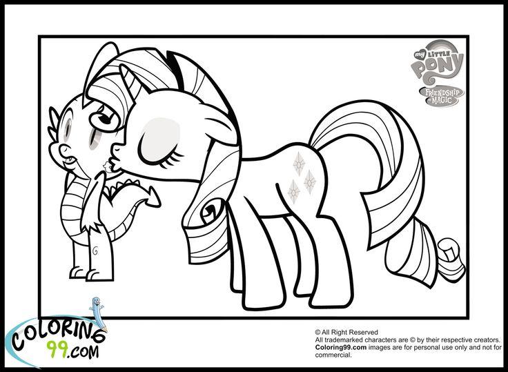Charmant Seltenheit Meine Kleinen Pony Malvorlagen Zeitgenössisch ...