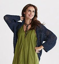 Topsy Shrug by Amy Brill Sweaters  (Knit Shrug)