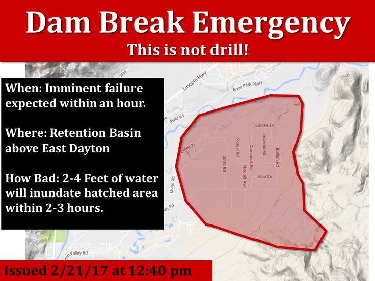 URGENT: Retention basin above East Dayton NV failing! FLASH FLOOD WARNING UNTIL 6:40PM. THIS IS NOT A DRILL. #NVWx #DamFailurepic.twitter.com/frXe8qhyI5 Florida SEO  Brevard SEO  SEO Biz Marketing