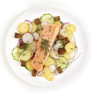Scandinavian Salmon Recipe - Good Housekeeping