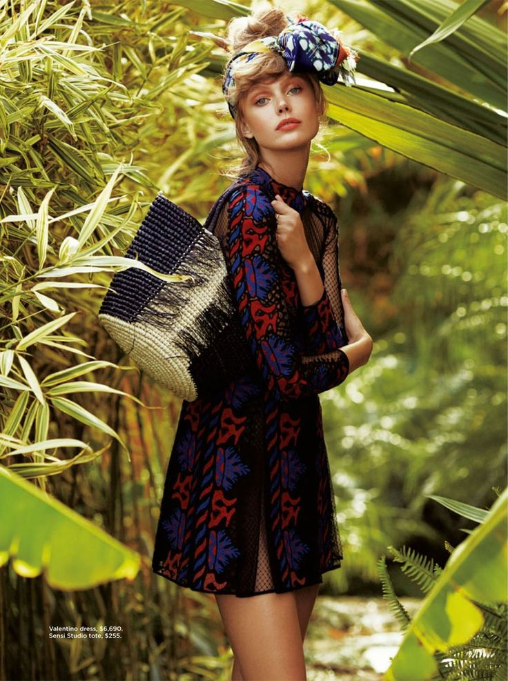frida gustavsson summer california hilary walsh5 Frida Gustavsson Heads to the Tropics for C Magazine by Hilary Walsh