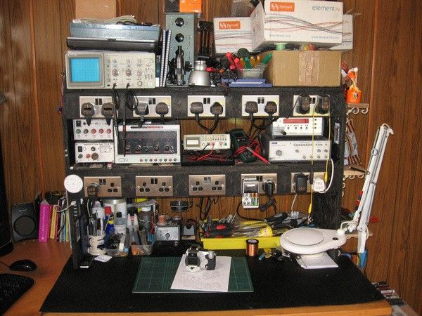 17 best ideas about electronic workbench on pinterest for Homemade electronic gadgets