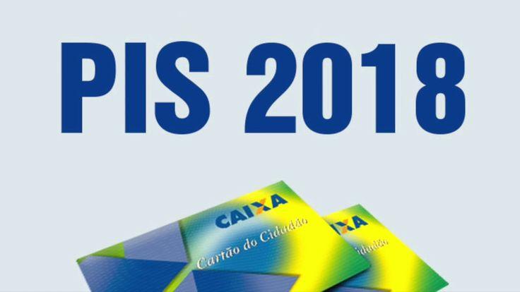 PIS PASEP 2017 2018  - TABELA DE PAGAMENTO