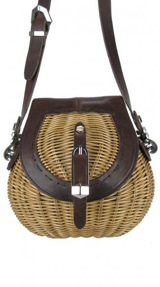 """Tikva """"Basket"""" Mini Shoulder Bag"""