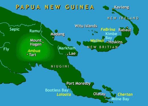 Best Guinea Map Ideas On Pinterest Papua New Guinea Maps S - Papua new guinea map