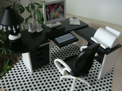 89 best doll play - office furniture computers images on pinterest