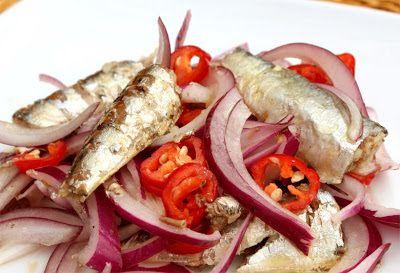Cebiche de sardinas de lata