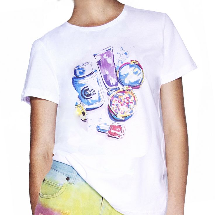 T-shirt Blue perfume Chouette Chouette Fashion #chouettefashion
