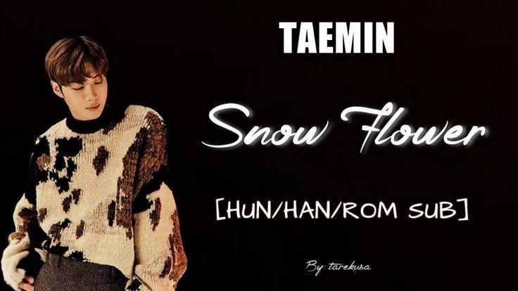 TAEMIN - Snow Flower [HUN SUB]