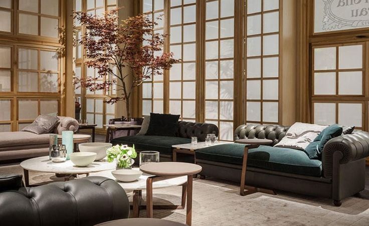 New #PoltronaFrau #furnishings straight from the #SalonedelMobile