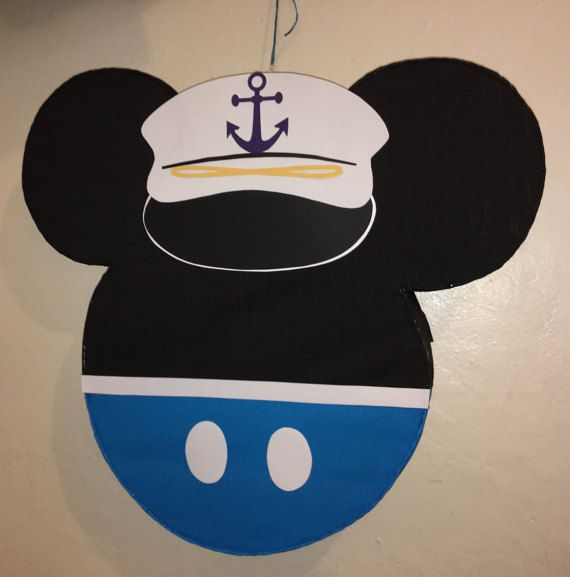 Sailor Mickey Mouse Pinata. Nautical Mickey mouse by aldimyshop