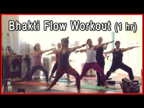 Bhakti Yoga Class - full yoga workout with Kumi Yogini ~ 1 hour #yoga #yogaclass #bhaktiyoga