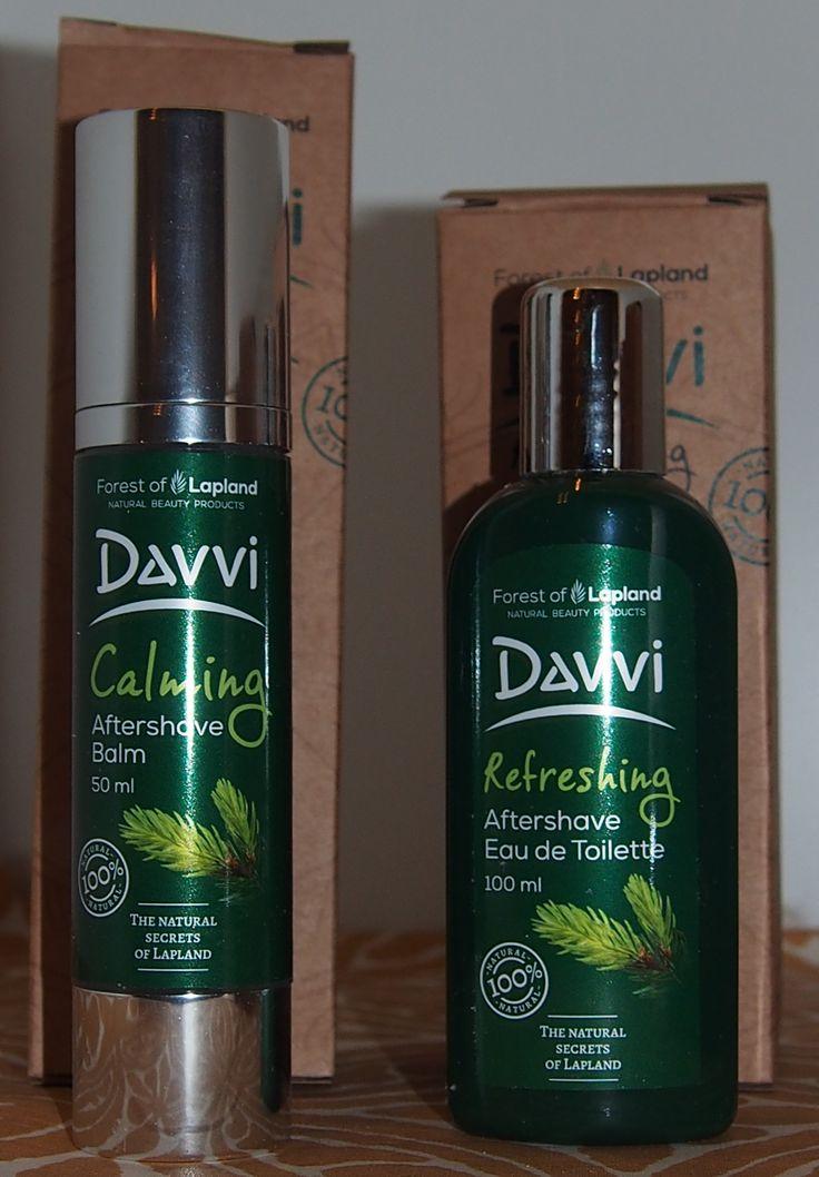 Davvi men´s natural cosmetics from Finnish Lappland.   http://somanyinspiration.blogspot.fi/2016/11/lapin-luonto-luo-outoa-taikaa.html  #Davvi #naturalcosmetics #cosmetics #man