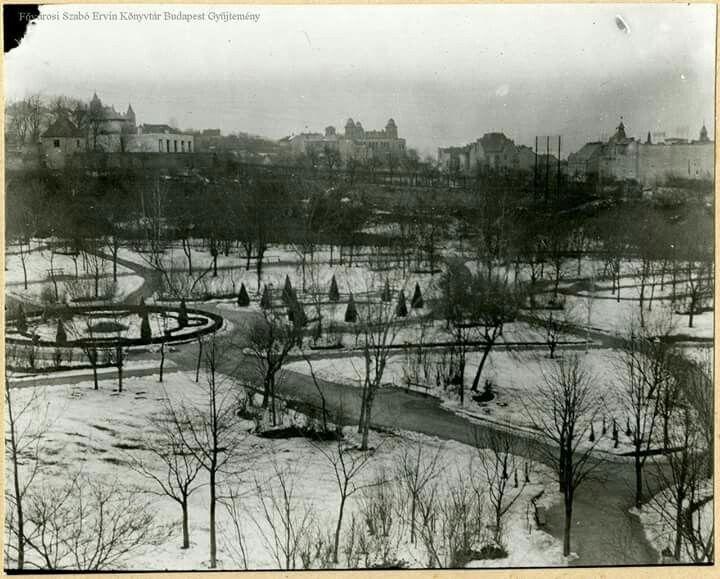 1910 körül. Mechwart liget.