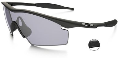 6581cbe97e Oakley Industrial M Frame Safety Glasses with Grey Lens Oakley