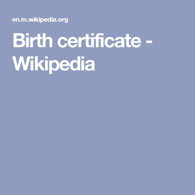 Vital records birth certificate on Pinterest Find birth - birth certificate sample