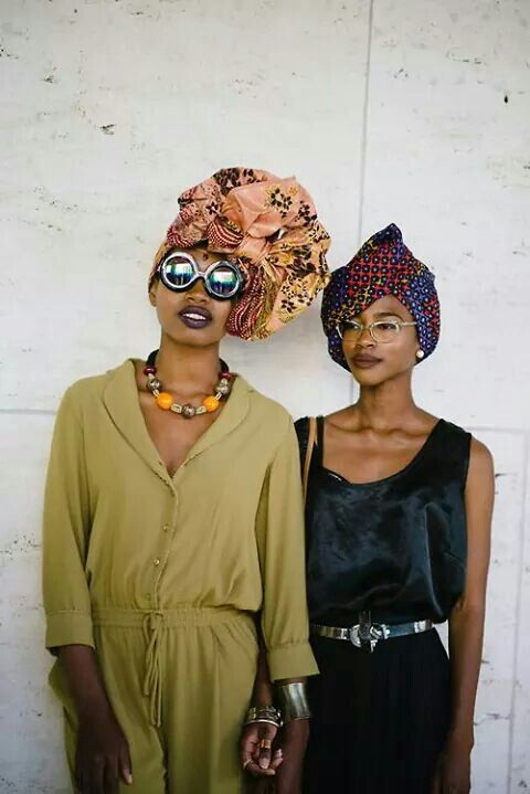 street fashion with some african inspiration: