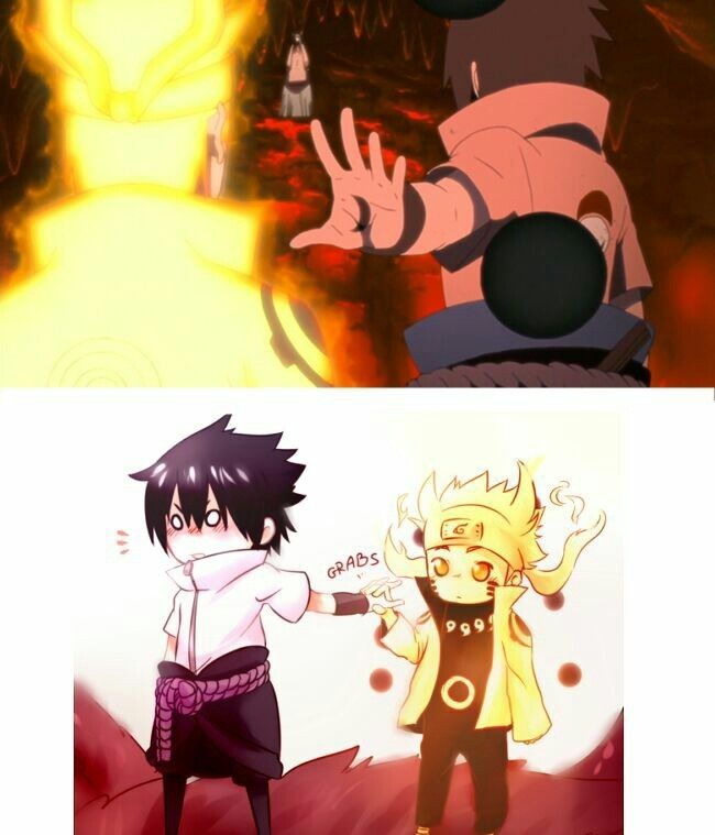 This is so something that Naruto would do.