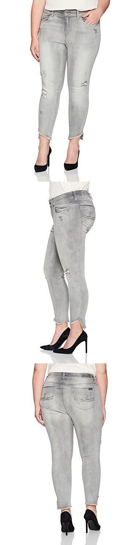 Seven7 Women's Plus Size Skinny Jean, Tenerife, 16