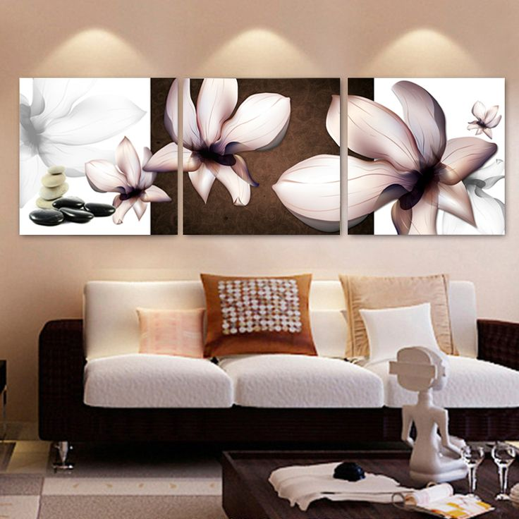 No Frame Home Decorative Paintings On Canvas Abstract Living Room Canvas  Painting Modular Decoration Pictures Part 95
