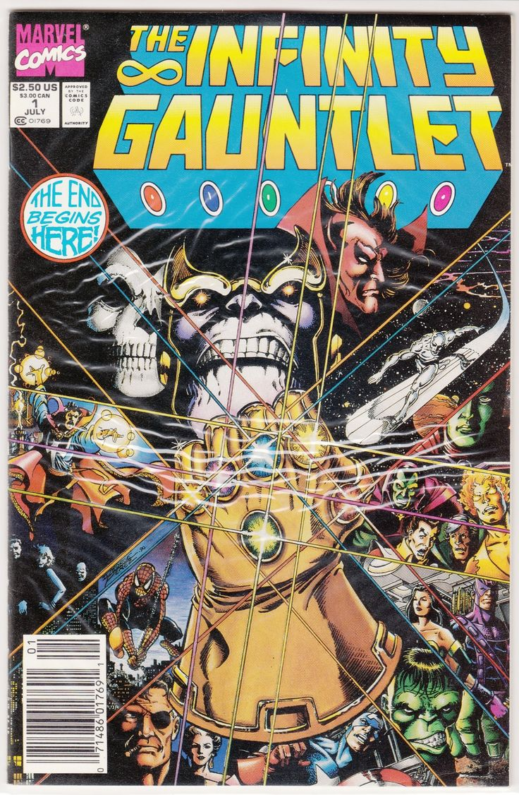 Title: Infinity Gauntlet  Year: 1991  Publisher: Marvel  Number: 1