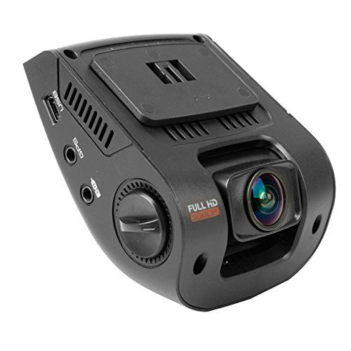 """awesome Rexing V1 2.4"""" LCD FHD 1080p 170 Wide Angle Dashboard Camera Recorder Car Dash Cam with G-Sensor, WDR, Loop Recording"""