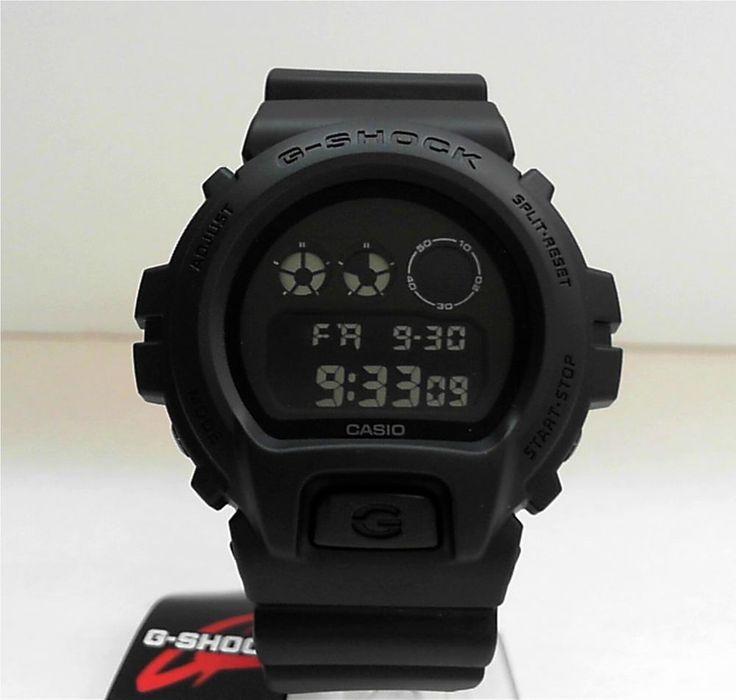 New Casio G-Shock Matte Black Watch DW-6900BB-1 in Uhren & Schmuck, Armband- & Taschenuhren, Armbanduhren | eBay!