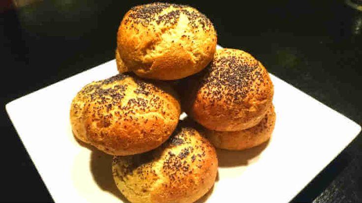 Ett lätt och gott LCHF-recept på pofiberfrallor. Funkar bra som hamburgerbröd med.