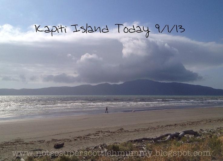 Not So Super Scottish Mummy: Kapiti Island Today 9/1/13