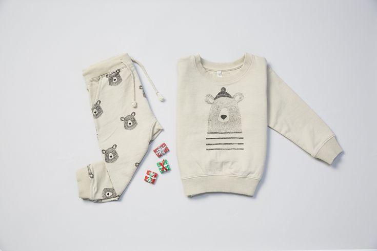 Mr Bear Sweatshirt - Minou Kids