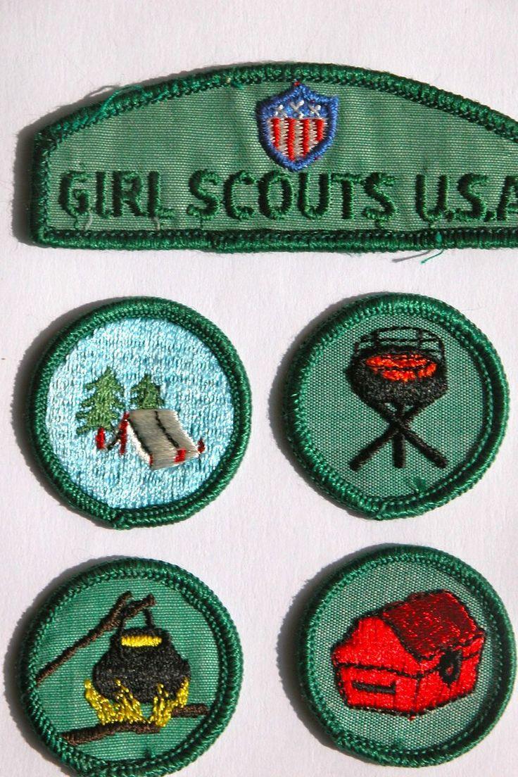 Police cap badges ga rel hat badges page 1 garel - Five Girl Scout Badges 1960 S