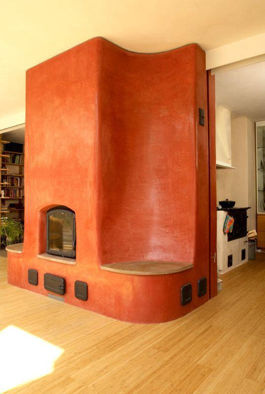 27 best Kachelöfen images on Pinterest Fire places, Home ideas and - Comment Installer Un Four Encastrable Dans Un Meuble