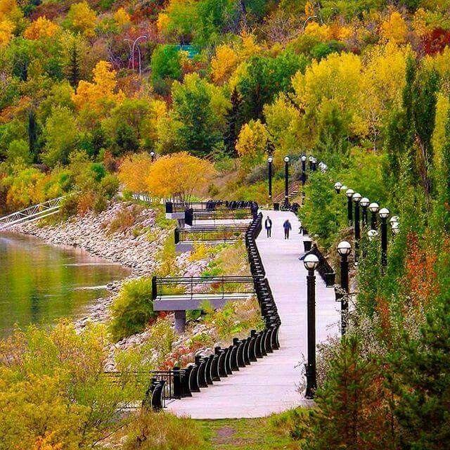 Louise McKinney Park, Edmonton, Alberta