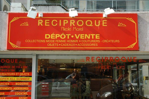 Réciproque Set up by a young PR in 1978 collection of six shops is the largest and best of all the dépôt-vente in Paris. Dépôt-vente are boutiques to which well-heeled Parisiennes sell their old (often never worn) clothes, and mortal folk can get their hands on them for less than buying them new. Réciproque has thousands of designer items, from rails stuffed with classic Chanel jackets to Yohji Yamamoto and men's leather accessories. 89, 92, 93, 95, 97, 101 rue de la Pompe, 75016