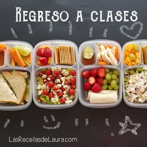 Lunch Para Los Cinco Días De La Semana Receta Comidas Saludables Para Niños Almuerzo Para Niños Comidas Para Niños