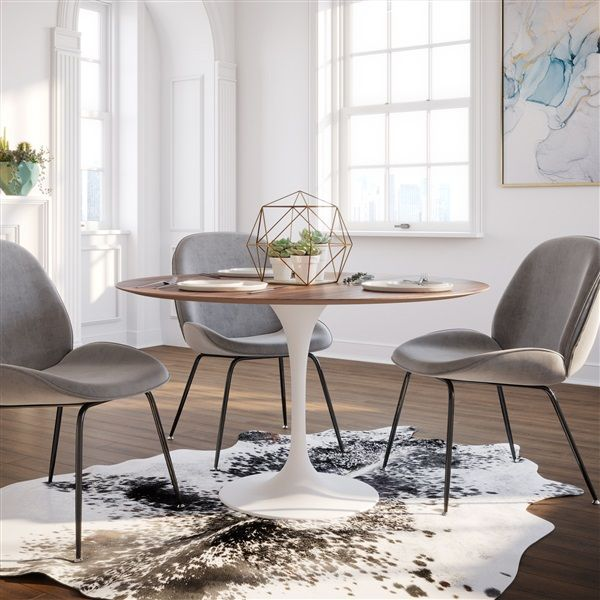 Saarinen Tulip Round Dining Table In 2020 Dining Table In