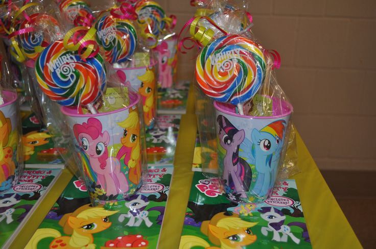 My Little Pony Party Goodie Bag Ideas Party Ideas