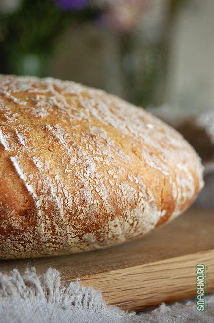 Бездрожжевой хлеб готовится долго, но результат радует глаз и согревает душу. Пошаговый рецепт с фотографиями вам в помощь, найдите только хмель.