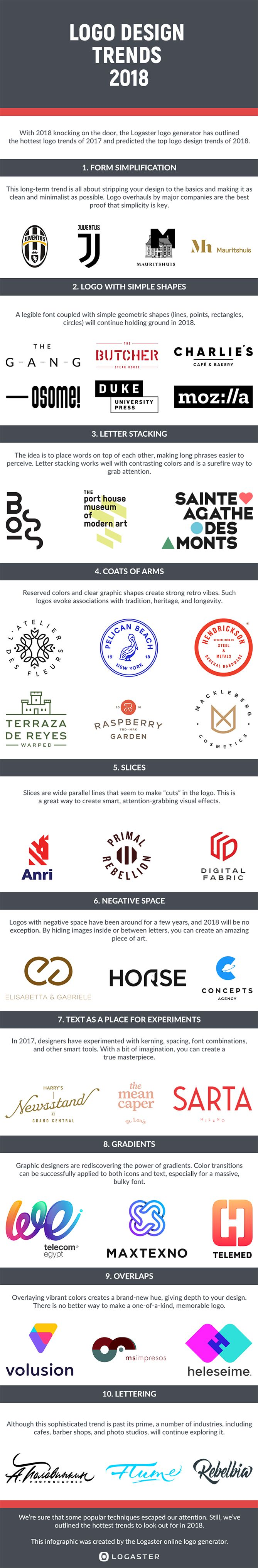 10 Logo Design Trends to Watch for in 2018 [Infographic]