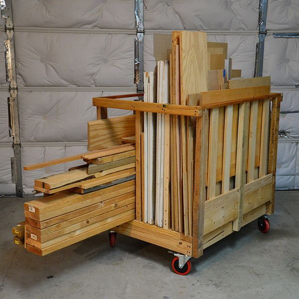Love this #DIY mobile storage cart by one of our RYOBI Nation Members.