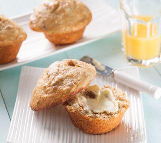 Whole Wheat Morning Glory Muffins