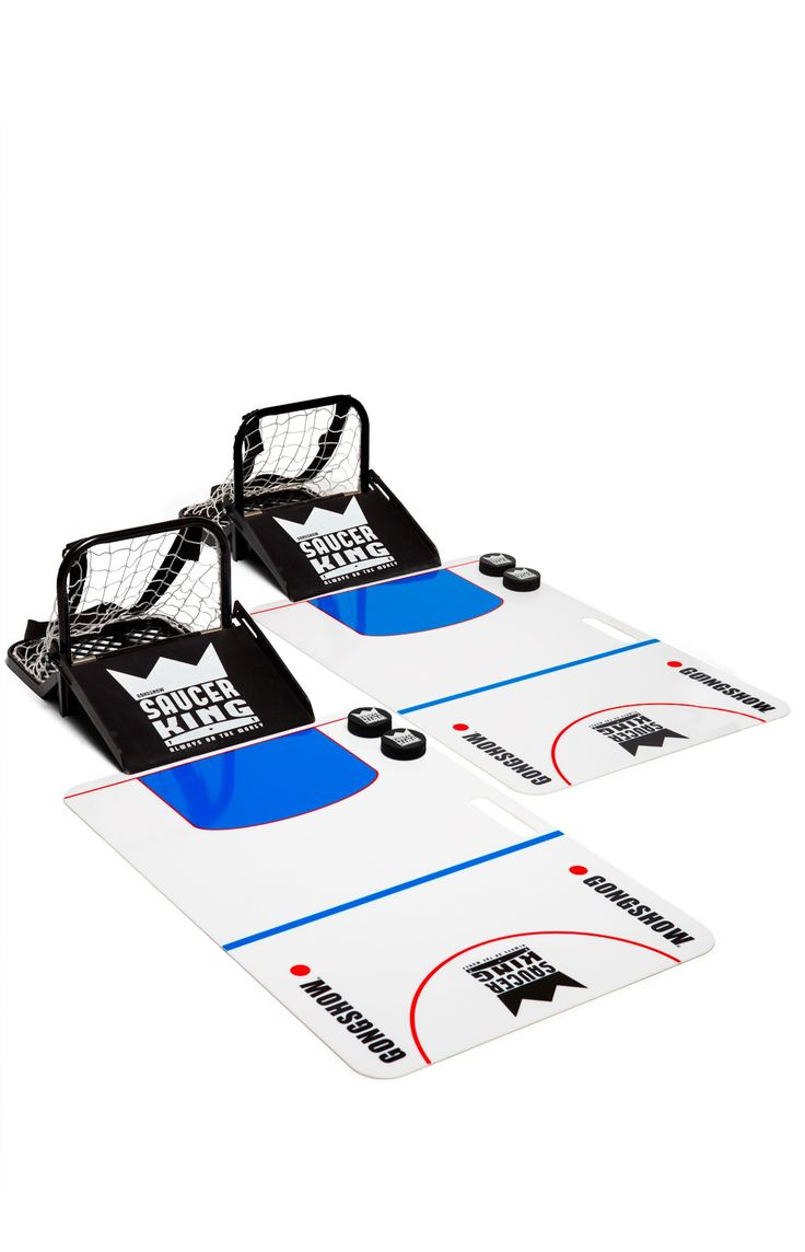 The Official Saucer King Game Kit - Toss some sauce wherever you go with this set by GONGSHOW | GONGSHOW Hockey Lifestyle Apparel