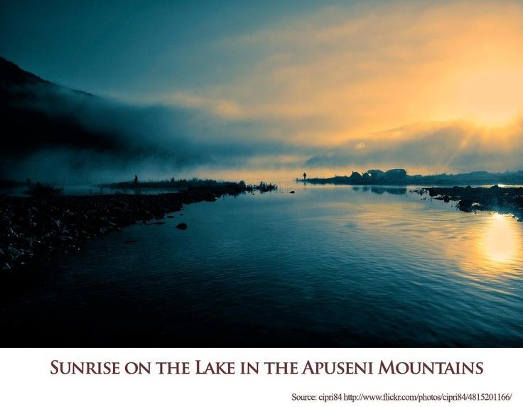 Sunrise on the lake  https://www.facebook.com/FromTransylvaniaWithLove